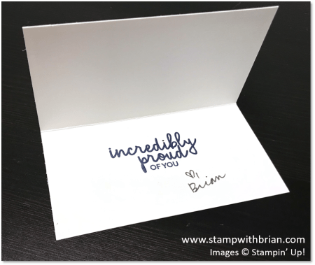 Incredible Like You, Stampin' Up!, Brian King