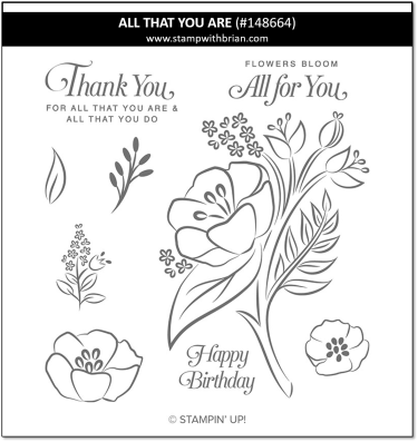 All That You Are, Stampin' Up!, 148664
