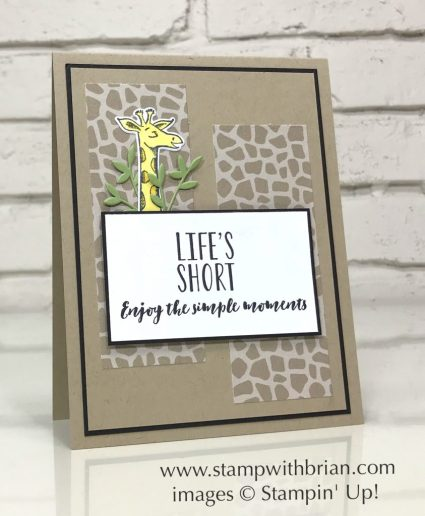 Animal Outing, Lemon Zest, Home to Roost, Stampin' Up!, Brian King
