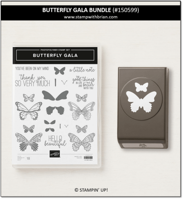 Butterfly Gala Bundle, Stampin' Up! 150599