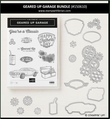 Geared Up Garage Bundle, Stampin' Up! 150610