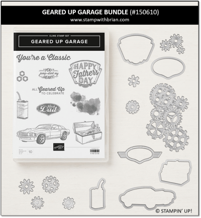 Geared Up Garage Bundle, Stampin' Up! 150610
