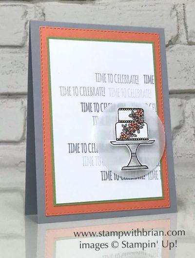 Piece of Cake Bundle, Itty Bitty Birthdays, Stampin' Up!, Brian King, birthday card