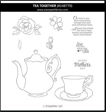 Tea Together, Stampin' Up! 148779