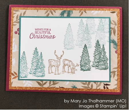 by Mary Jo Thalhammer, Stampin' Up! One-by-One Holiday Card Swap