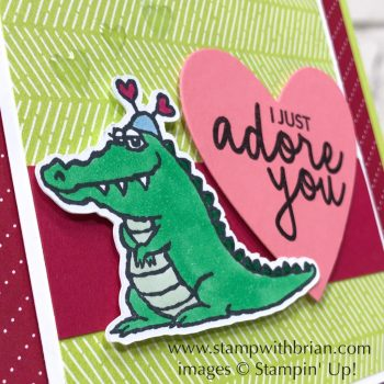 Hey Love, Incredible Like You, Stampin' Up!, Brian King, Valentine's Day card