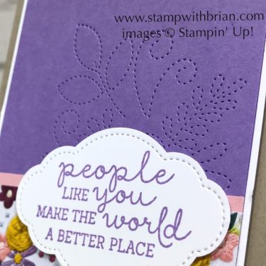 Needle & Thread Bundle, Stampin' Up!, Brian King