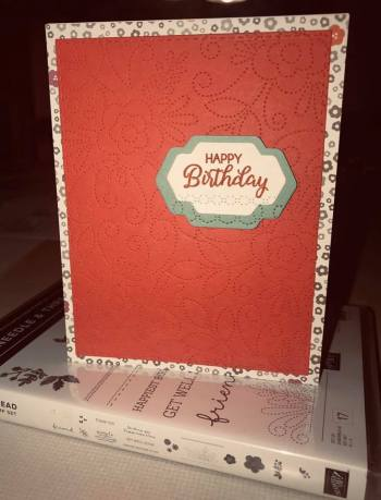 by Susan Barclay, Stampin' Up!