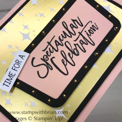 Birthday Cheer, Broadway Lights Framelits Dies, Stampin' Up!, Brian King