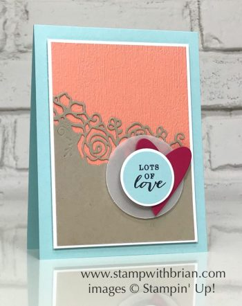 Forever Lovely Bundle, All Adorned, Stampin' Up!, Brian King