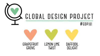 Stampin' Up! Color Inspiration: Grapefruit Grove, Lemon Lime Twist, Daffodil Delight