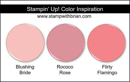 2019-2021 In Color Comparison, Rococo Rose