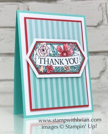 Believe You Can Host Set, Stitched Nesting Labels Dies, Stampin' Up!, Brian King