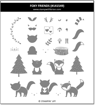 Foxy Friends, Stampin' Up! 141549