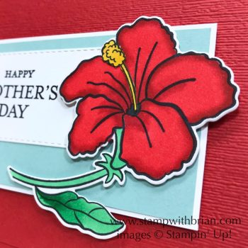 Humming Along, Just Because, Stampin' Up!, Brian King, Mother's Day card