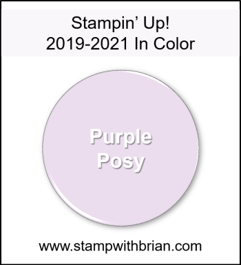 Purple Posy, Stampin' Up! 2019-2021 In Color