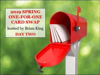 Spring One-for-One Card Swap, Stampin' Up!, Day 2