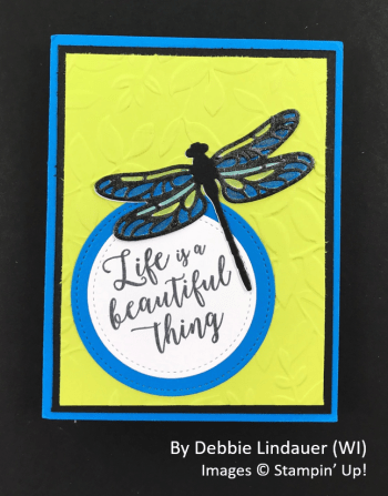 Spring One-for-One Card Swap, Stampin' Up!, by Debbie Lindauer