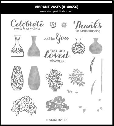 Vibrant Vases, Stampin' Up!, 148656