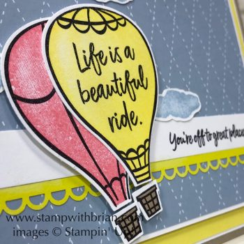 Above the Clouds Bundle, Stampin' Up!, Brian King
