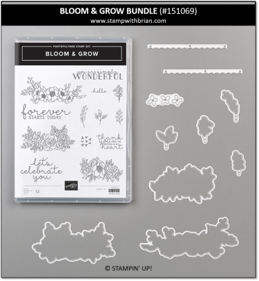 Bloom & Grow Bundle, Stampin' Up! 151069
