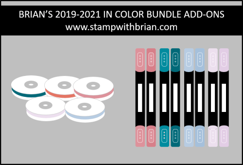 Brian's In Color Bundle Add-ons, Stampin' Up!, stampwithbrian.com