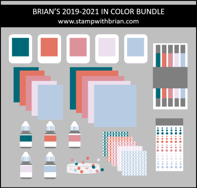 Brian' In Color Bundle, Stampin' Up!, stampwithbrian.com