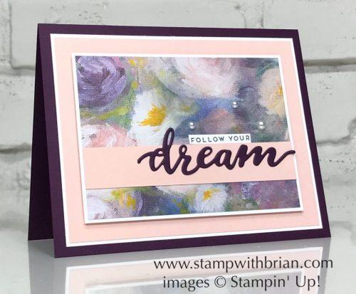 Follow Your Dreams Bundle, Perennial Essence Designer Series Paper, Stampin' Up!, Brian King, graduation card