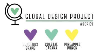 Stampin' Up! Color Inspiration - Gorgeous Grape, Coastal Cabana, Pineapple Punch