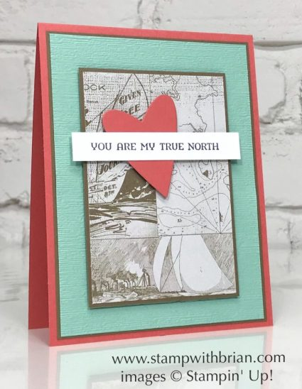 Sailing Home, Come Sail Away Designer Series Paper, Be Mine Dies, Stampin' Up!, Brian King