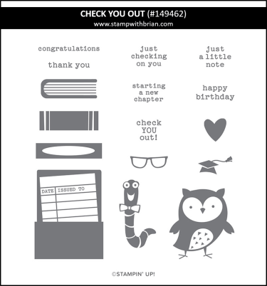 Check You Out, Stampin' Up!, 149462