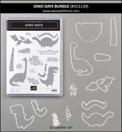 Dino Days Bundle, Stampin' Up! 151139
