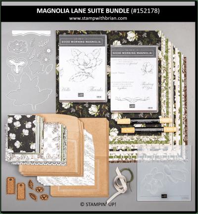 Magnolia Lane Suite Bundle, Stampin' Up! 152178