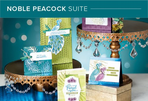Noble Peacock Suite, 101002, Stampin' Up! 2019 Annual Catalog