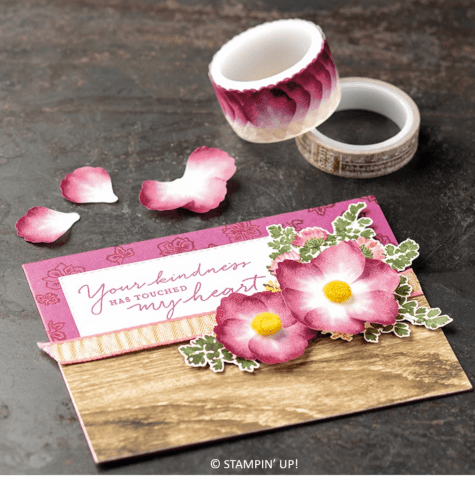 Pressed Petals Specialty Washi Tape, Stampin' Up! 149585