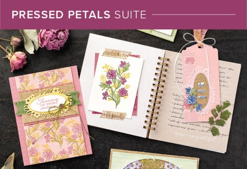 Pressed Petals Suite, 101006, Stampin' Up! 2019 Annual Catalog