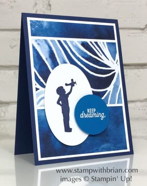Silhouette Scenes, See a Silhouette Designer Series Paper, Stampin' Up!, Brian King