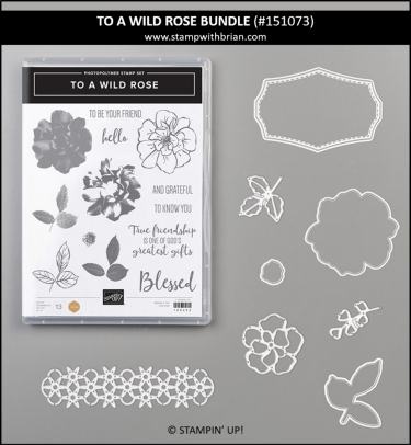 To a Wild Rose Bundle, Stampin' Up!, 151073