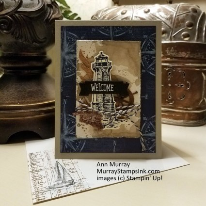 by Ann Murray, Come Sail Away, Stampin' Up!