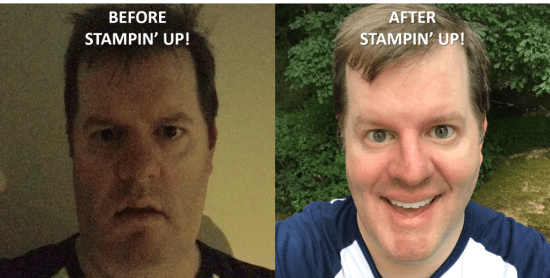 Before and After, Stampin' Up!, Brian King