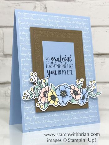 Bloom & Grow Bundle, Heirloom Frames Dies and 3D Embossing Folder, Country Home, Stampin' Up!, Brian King