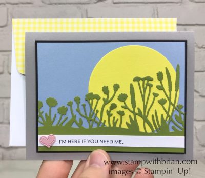 Friend Like You Bundle, Here's a Card, Stampin' Up!, Brian King