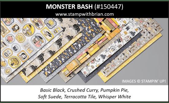 Monster Bash Designer Series Paper, Stampin' Up! 2019 Holiday Catalog, 150447
