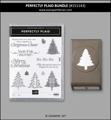 Perfectly Plaid Bundle, Stampin' Up!, 151143