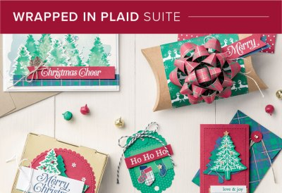 Wrapped in Plaid Suite, Stampin' Up! 101014