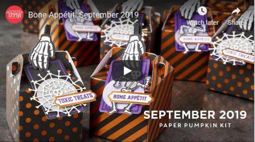 September Paper Pumpkin, Stampin' Up!