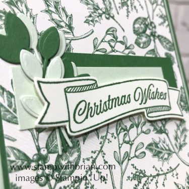 Toile Christmas Bundle, Stampin' Up!, Brian King