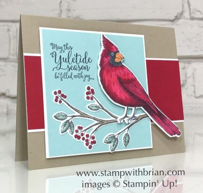 Toile Christmas, Greatest Part of Christmas, Stampin' Up!, Brian King