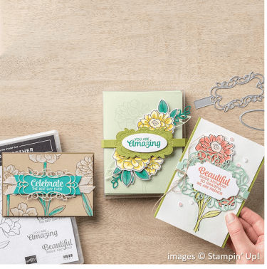 Band Together Bundle, Stampin' Up!, Catalog Samples