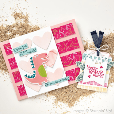 Dino Days Bundle, Stampin' Up!, Catalog Samples